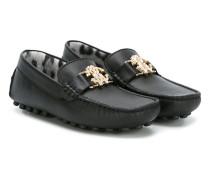 - Loafer mit Logo-Schild - kids