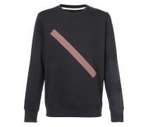 Sweatshirt mit geometrischem Print