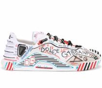 Sneakers mit Graffiti-Print
