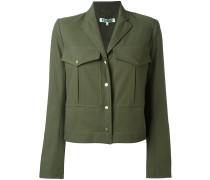 - Cropped-Jacke im Military-Stil - women