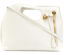 Handtasche mit Reißverschluss-Detail