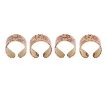 Set aus vier Ringen