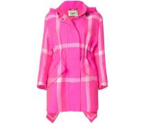 Pop Tartan raincoat