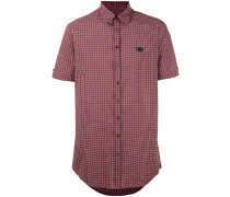 Button-Down-Hemd mit kurzen Ärmeln