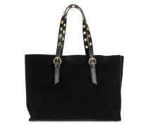 classic tote with gold-tone hardware