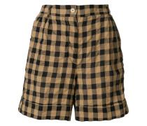 checkered bermuda shorts