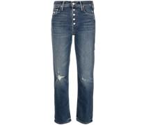The Pixie Tomcat Straight-Leg-Jeans
