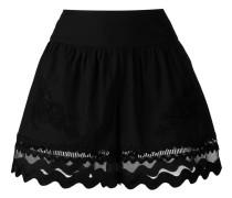 Shorts mit Muschelsaum - women - Baumwolle - 40