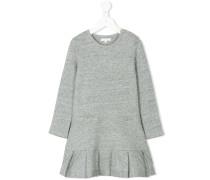 Kleid mit Faltensaum