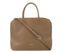 Rechteckige Handtasche - women - Leder