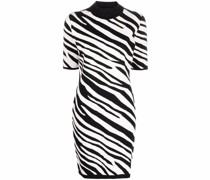 Kleid mit Zebramuster