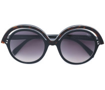 Sonnenbrille mit doppeltem Rahmen