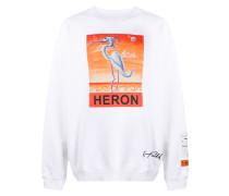 "Oversized-Sweatshirt mit ""Heron""-Print"