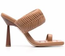 x Rosie Huntington-Whiteley leather sandals