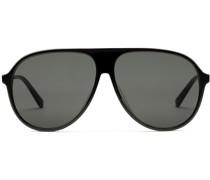 Sonnenbrille mit spezieller Pilotenform