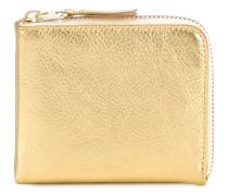 Metallic Leather Wallet