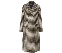 double-breasted oversized coat