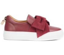 Sneakers mit Oversized-Schleife