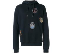 Pullover mit Wappen-Stickerei