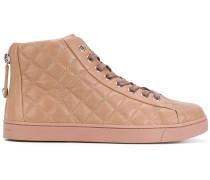 Gesteppte High-Top-Sneakers
