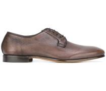 Derby-Schuhe aus gekörntem Leder