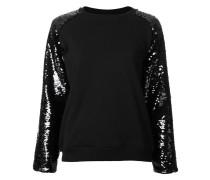 Langärmeliges Sweatshirt mit Pailletten