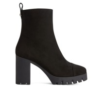 Zandra suede ankle boots