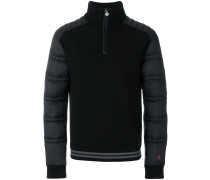 La Tour III shell-panelled pullover