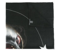 'Monkey Brothers' Schal mit Print