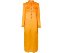 Langes Hemdkleid - women - Kork - 4