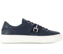 Sneakers mit Gancini-Spange
