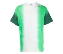T-Shirt mit Farbverlauf-Print