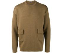 Pullover mit Pattentaschen