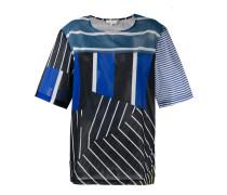 T-Shirt mit Streifenmix - women - Baumwolle - M