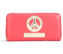 Portemonnaie mit Peace-Symbol