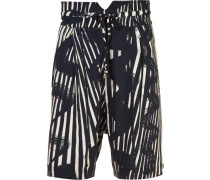 'Samurai' Shorts - men - Baumwolle - 48