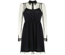 Kleid aus Point d'Esprit-Tüll