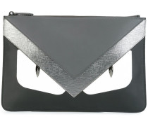 "Clutch mit ""Bag Bugs""-Motiv"