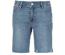 Jax mid-rise distressed shorts