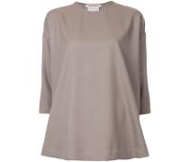 loose fit plain blouse