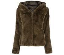 D3354W FURYY reversible faux-fur padded coat
