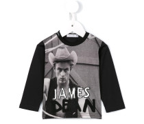Langarmshirt mit James Dean-Print