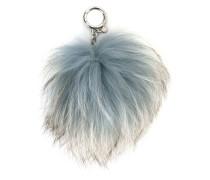 fur ball key-chain