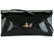 removable strap envelope clutch
