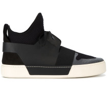 High-Top-Sneakers in Netzoptik