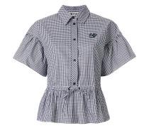 bubble sleeve shirt