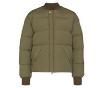 Arrow logo puffer jacket