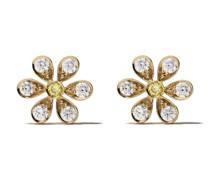 18kt 'Maguerite' Gelbgoldohrstecker mit Diamanten