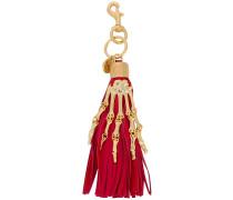 Schlüsselanhänger mit Skeletthand