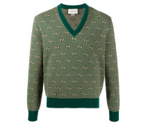 Pullover mit GG-Print
